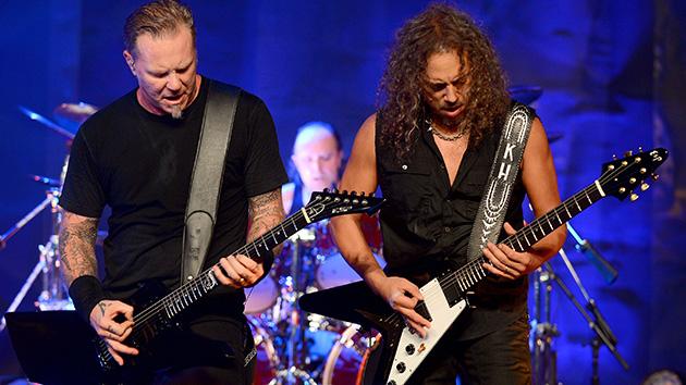Metallica Hetfield Hammet
