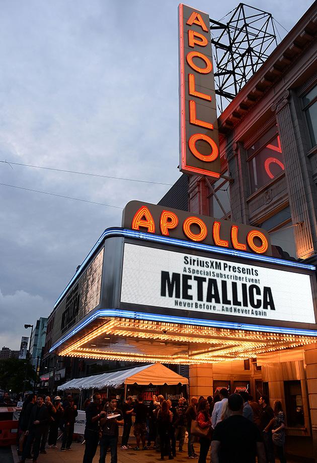 Metallica Live At The Apollo Theater