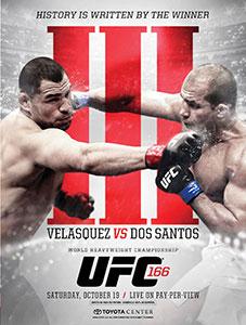 UFC 166: Velasquez-Dos Santos