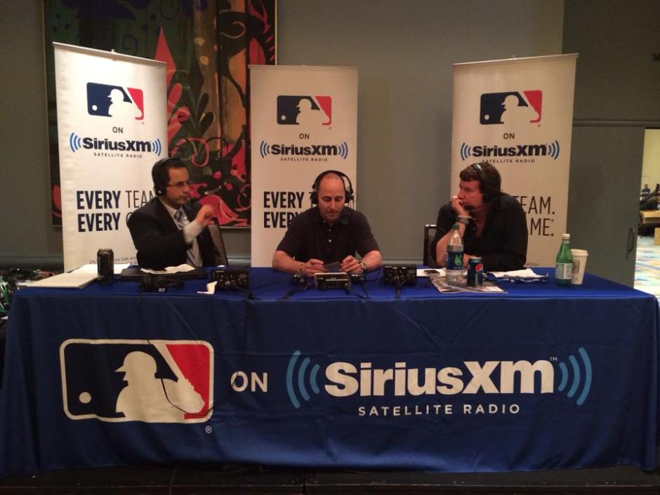 Yankees GM Brian Cashman on-site with Casey Stern and Jim Bowden on MLB Network Radio