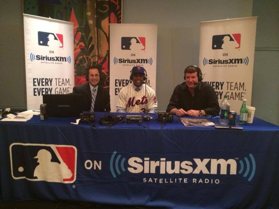 Curtis Granderson on-site with Casey Stern and Jim Bowden on MLB Network Radio