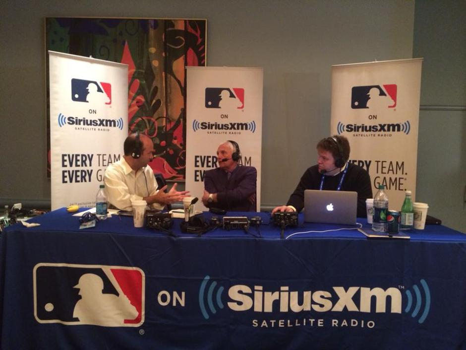 Terry Collins with Mike Ferrin and Jim Duquette on MLB Network Radio