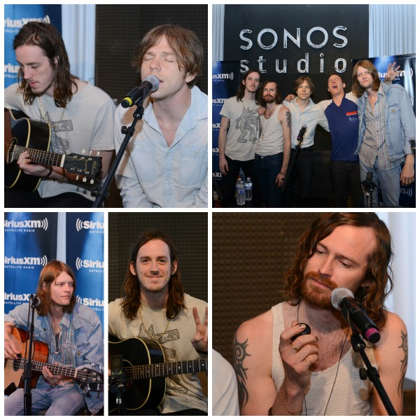 Cage the Elephant Sonos Collage