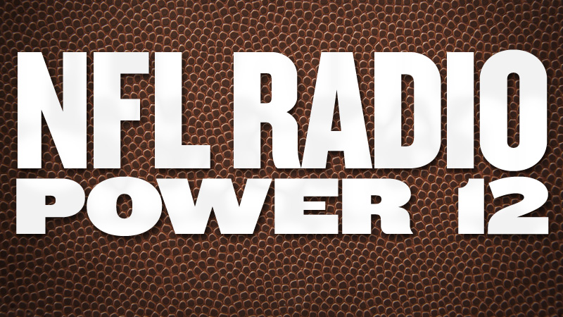 Nfl Radio Power 12 Week 13 Bears Move In Chiefs Move Up