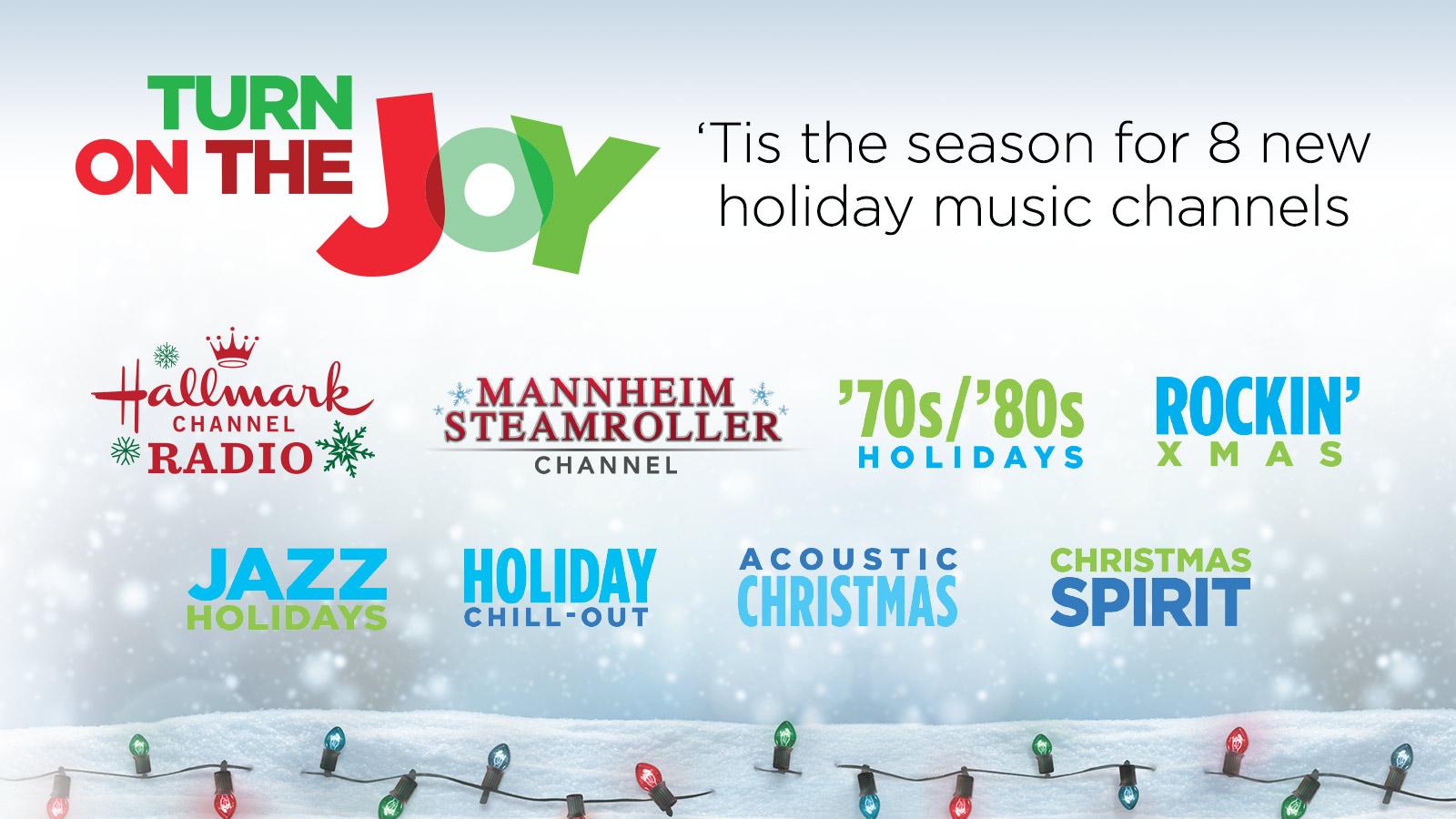 Sirius Xm Christmas Station.Siriusxm S New 2018 Holiday Channels Hear Nowhear Now
