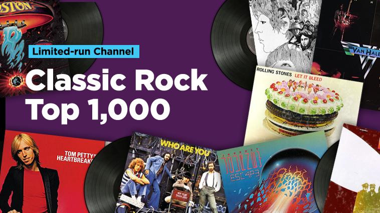 Discover the top 1,000 classic rocks songs of all time on