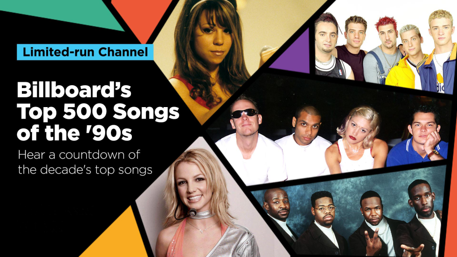 Discover Billboard's Top 500 Songs of the '90s on limited