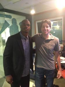 Adrian Peterson and Bruce Murray