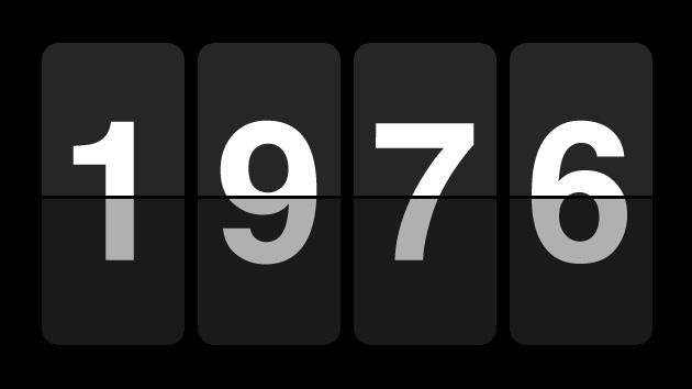 70s CountdownClock 1976