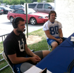 NFL Radio - 2014 TCT - Colts - Andrew Luck and Coby Fleener