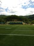 NFL Radio - 2014 TCT - Saints - Saints Practice Field and golf stands