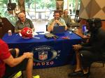 NFL Radio - 2014 TCT - Chiefs - Alex Smith and Dwayne Bowe