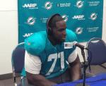 NFL Radio - 2014 TCT - Dolphins - LT Branden Albert