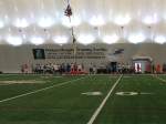 NFL Radio - 2014 TCT - Dolphins - Practice in the bubble