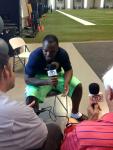 NFL Radio - 2014 TCT - Rams - LB Alec Ogletree