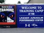 NFL Radio - 2014 TCT - Ravens - Welcome sign