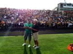 NFL Radio - 2014 TCT - Pat and Jim on field