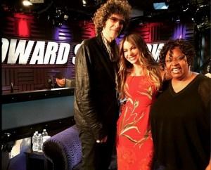 Sofia Vergara on Howard Stern