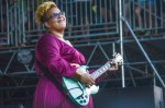 Alabama Shakes onstage at Bonnaroo 2015