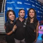 Danny Valentino with Krewella at EDC Las Vegas 2015