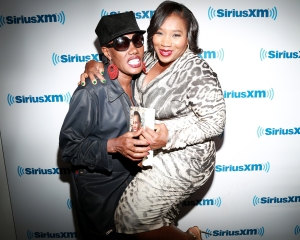 Grace Jones at the SiriusXM Studios