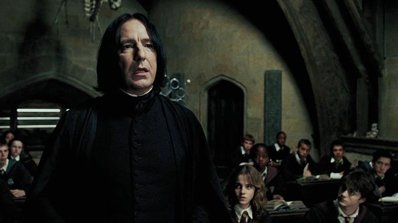 Harry Potter as Severus Snape