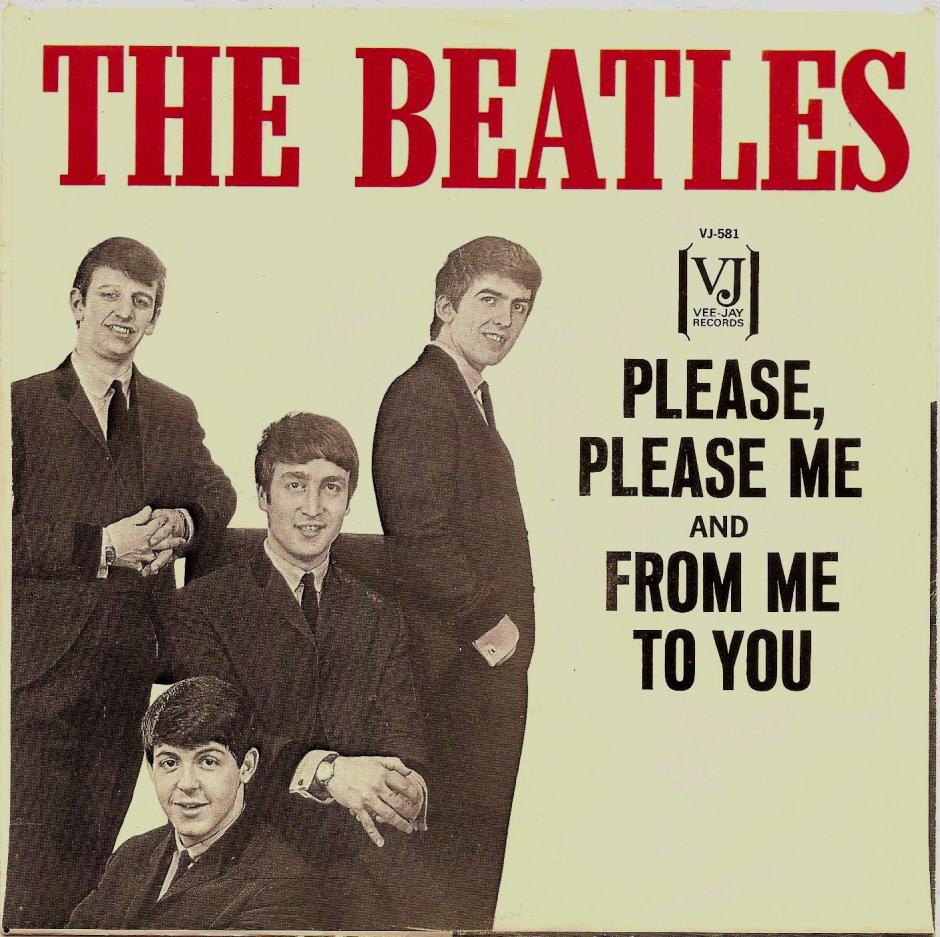 Please Please Me US Single