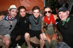 Danny Valentine, Alesso, Martin Garrix, Ruby Rose and Liquid Todd at Coachella 2016