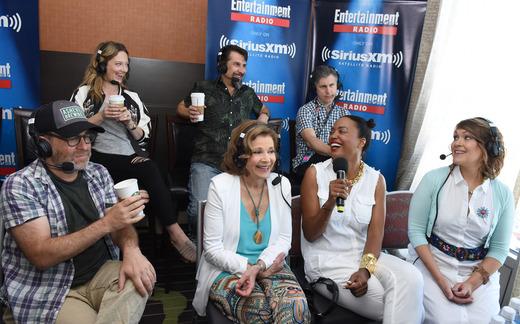 The cast of Archer at Comic-Con 2016