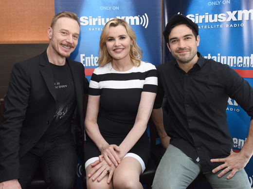 The cast of The Exorcist at Comic-Con 2016