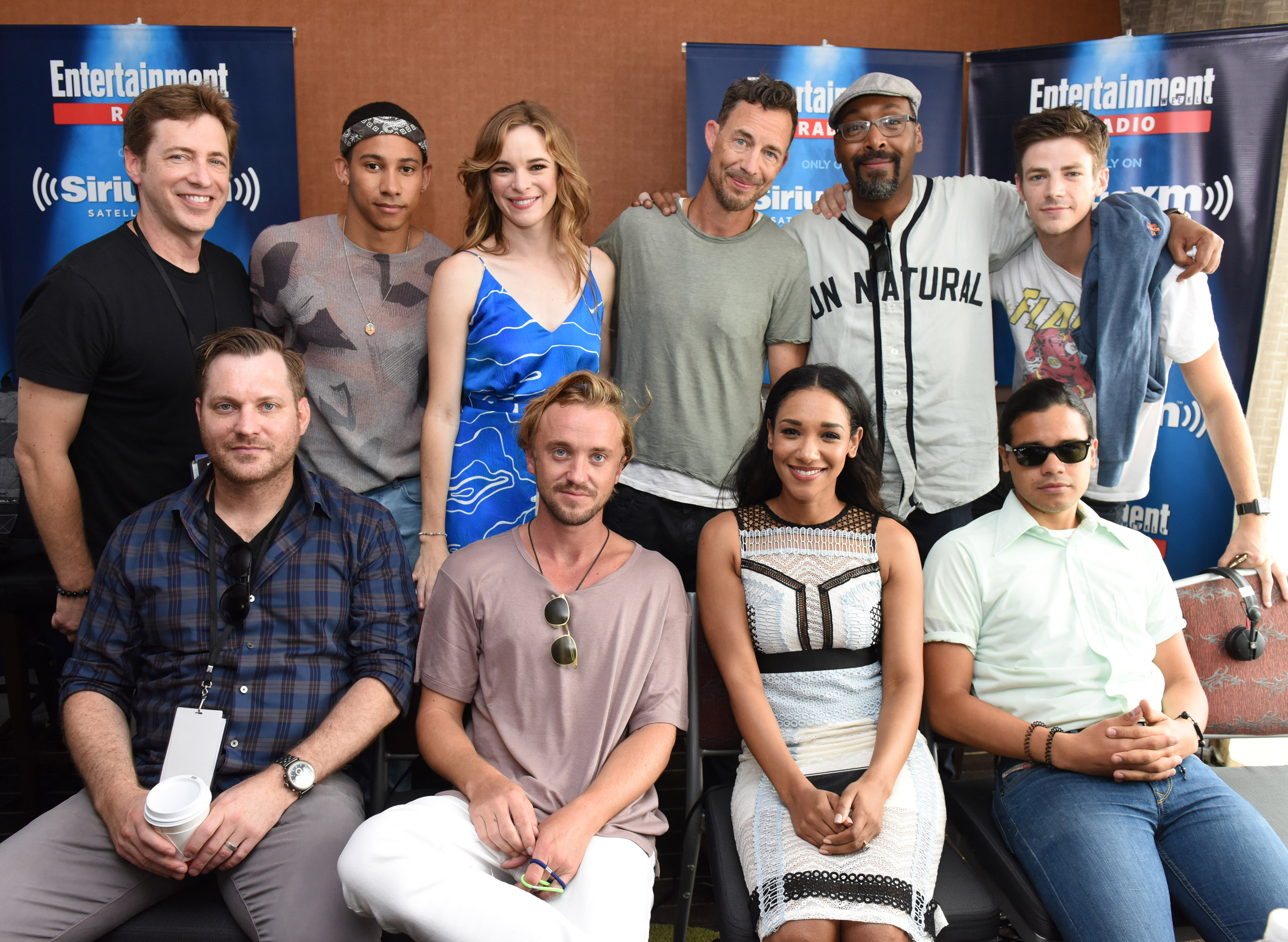 The cast of The Flash at Comic-Con 2016