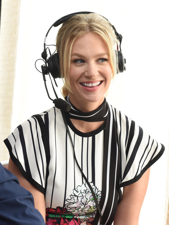 January Jones at Comic-Con 201