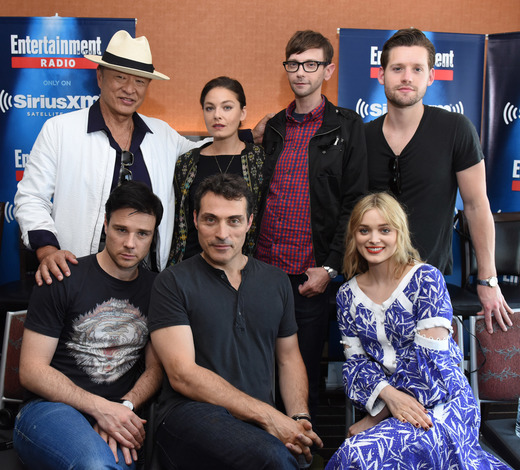Man in the High Castle cast at Comic Con 2016