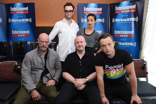 The cast of Preacher at Comic-Con 2016