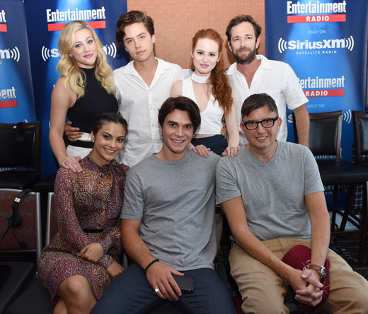 The cast of Riverdale at Comic-Con 2016