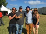 Strumbellas with Madison at Lollapalooza