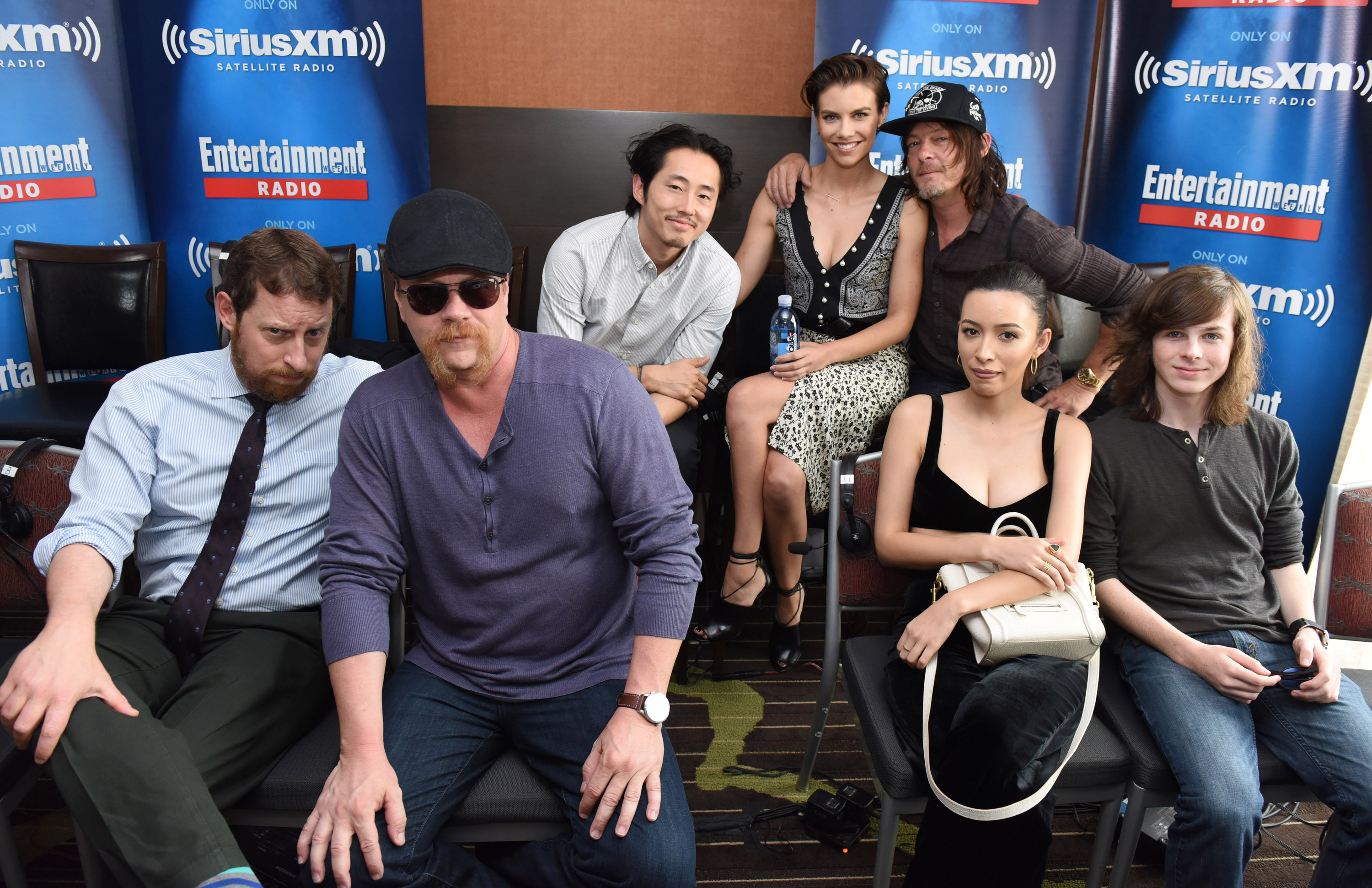 The cast of The Walking Dead at Comic-Con 2016
