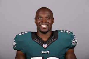 This is a 2015 photo of DeMeco Ryans of the Philadelphia Eagles NFL football team. This image reflects the Philadelphia Eagles active roster as of Tuesday, May 19, 2015 when this image was taken. (AP Photo)