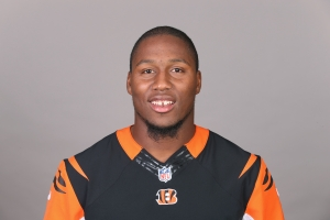 This is a 2015 photo of Carlos Dunlap of the Cincinnati Bengals NFL football team. This image reflects the Cincinnati Bengals active roster as of Monday, May 18, 2015 when this image was taken. (AP Photo)