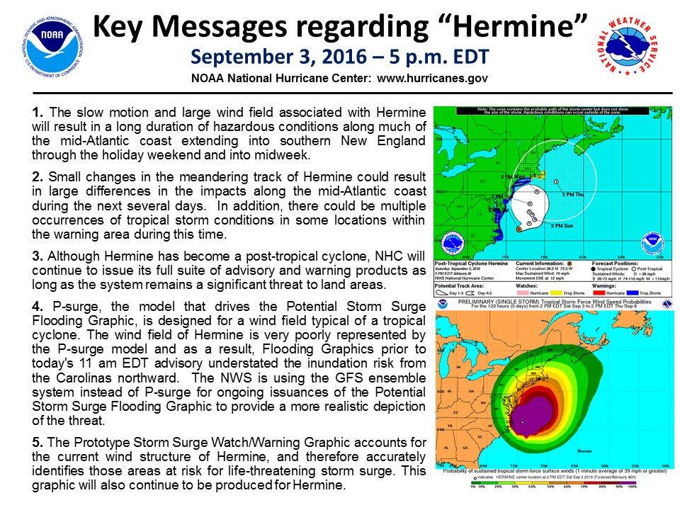 NOAA 5 p.m. update