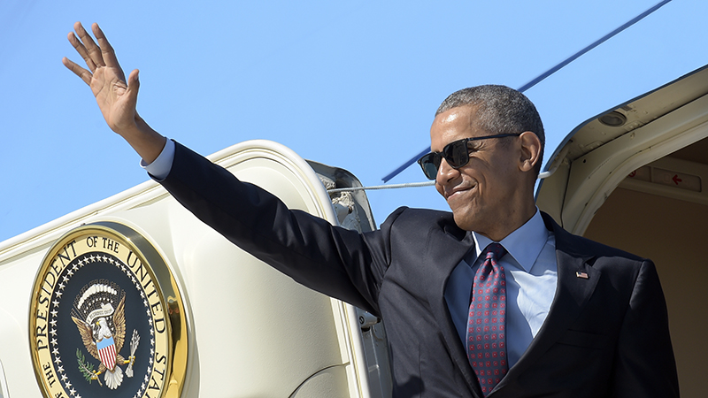 Bildergebnis für Obama waving