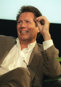 """Garry Shandling attends the screening of the last episode of his HBO comedy series """"The Larry Sanders Show"""" May 27, 1998, in New York. The episode brings the series starring Shandling as Sanders to a close after six seasons.(AP Photo/Marty Lederhandler)"""