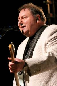 Greg Lake, singer, songwriter, bassist for legendary British rock bands King Crimson and Emerson, Lake & Palmer. Greg Lake passed away Dec. 7th, 2016 at the age of 69. Greg Lake performs at the Variety Playhouse on Thursday, April 26, 2012, in Atlanta. (Photo by Robb Cohen/Invision/AP)