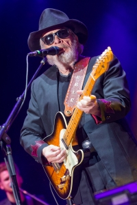 Merle Haggard performs on stage during the 2015 Stagecoach Festival at the EmpireClub on Friday, April 24, 2015, in Indio, Calif. (Photo by Paul A. Hebert/Invision/AP)