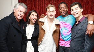 Ray Liotta and Cast of Power Rangers