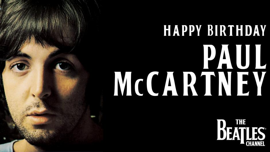 Celebrate Paul McCartney's 77th birthday all week long on