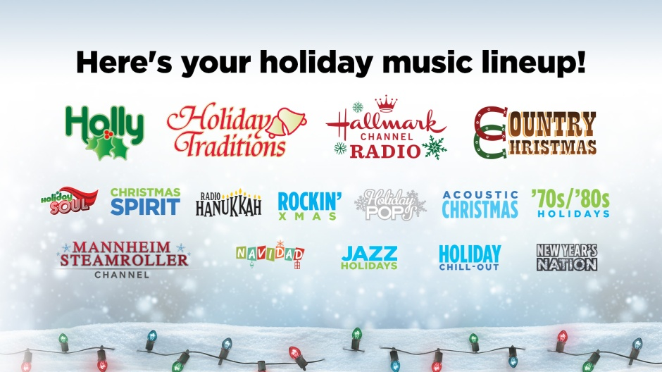 Sirius Xm Christmas.Siriusxm 2018 Holiday Music Lineup 16 Commercial Free