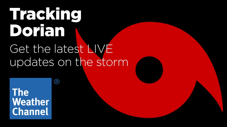 Hurricane Dorian live coverage from The Weather Channel on