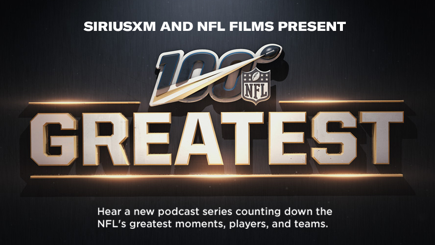 SiriusXM & NFL Films celebrate the NFL's 100th season with