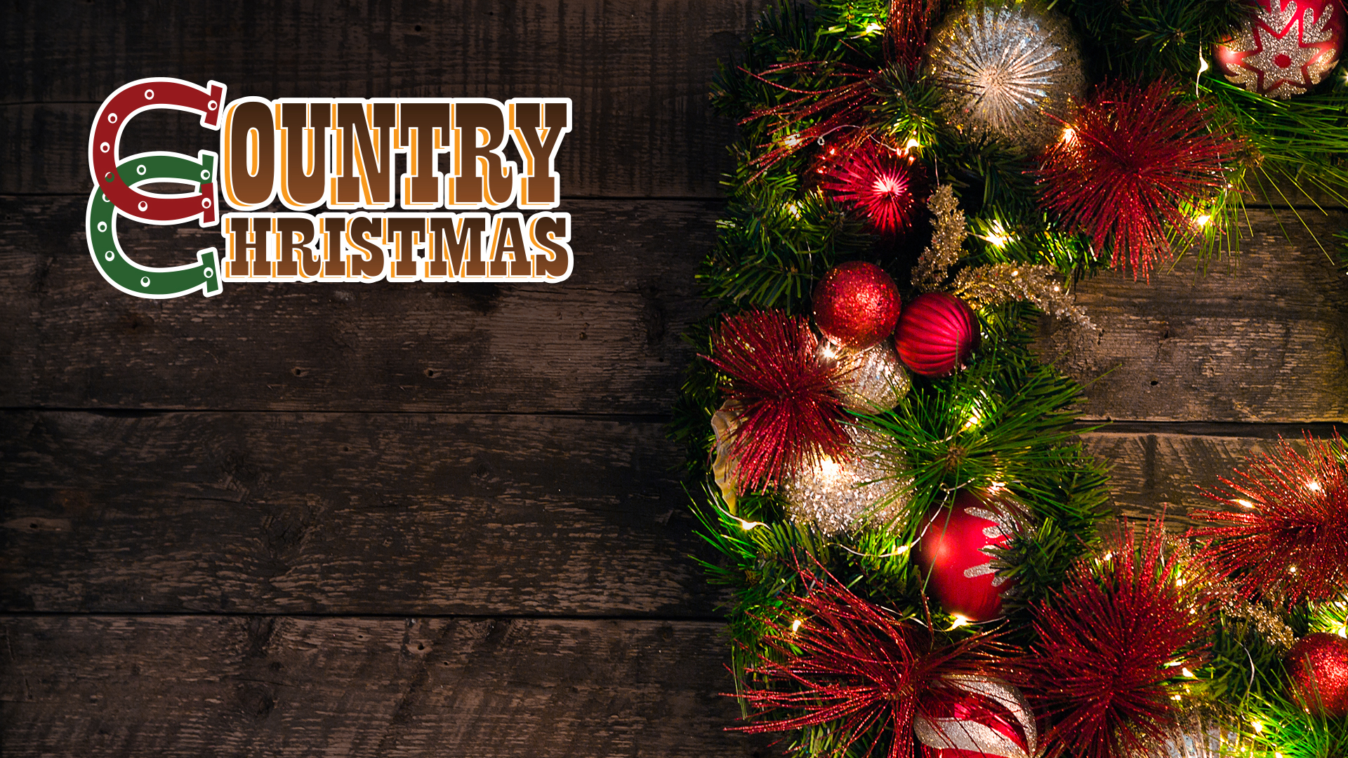 Country Christmas holiday music channels